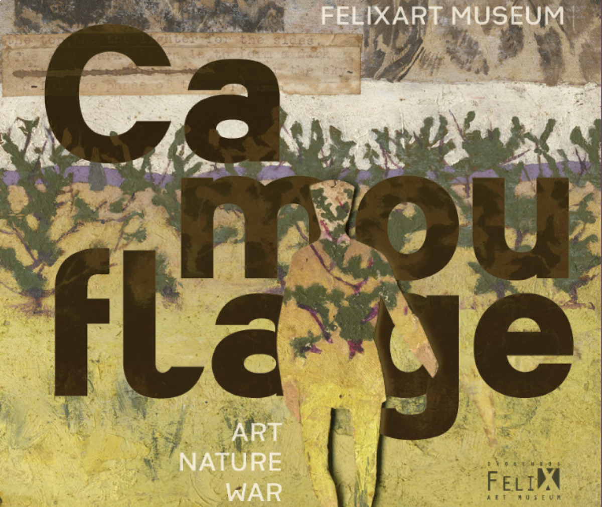 Groupshow @ FeliXart (BE): Camouflage, Behind the Abstract Pattern.