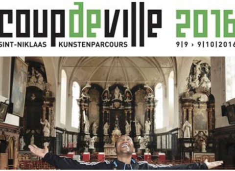 Participation at 'Coup de Ville' - the Contemporary Arts Triennial in Sint-Niklaas (BE)